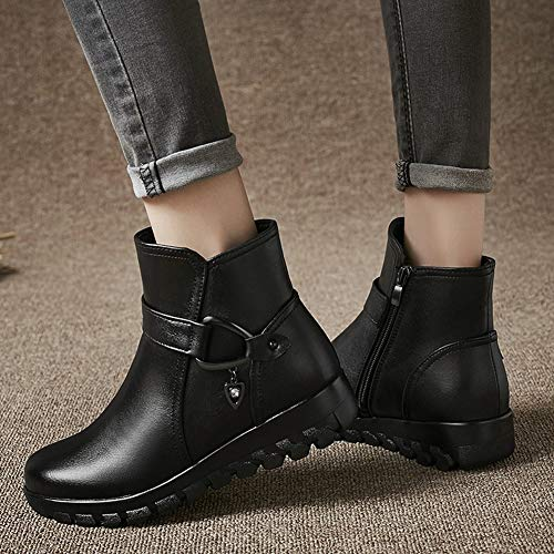 Ykfchdx Fashion Boots Black Women's black Winter Warmth two forty Snow Z7gqZ