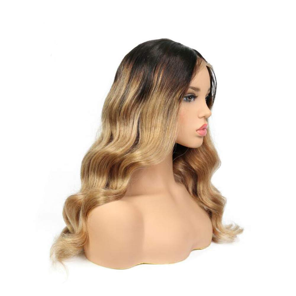 10A Silk Top Lace Front Wig 150% Density Pre Plucked natural wave wavy Natural Farbe Peru Virgin Human Hair Wigs for damen 14 Inch natural wave wavy Full Lace 14  130