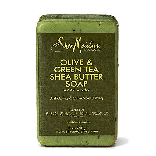 SheaMoisture Olive & Green Tea Shea Butter Soap - 8 oz