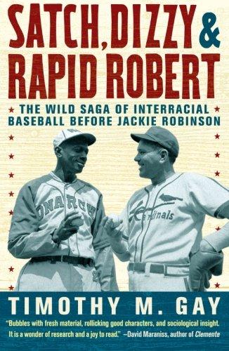 Satch, Dizzy, & Rapid Robert: The Wild Saga of Interracial Baseball Before Jackie - Satch Blue