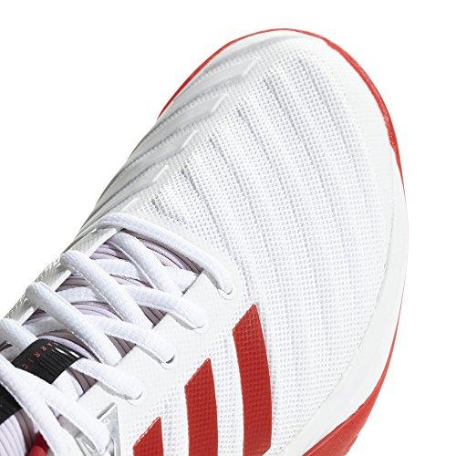 Damen Tennisschuhe adidas 000 Barricade Weiß Escarl Ftwbla 2018 twPPdZq