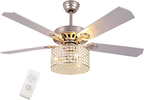 Meiney 52-Inch Fandelier Ceiling Fan