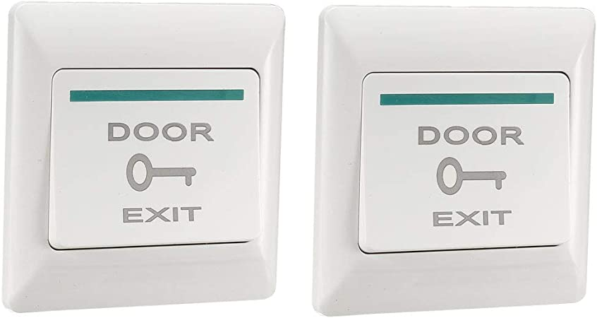 Door Exit Button Push Release Plastic Switch 12V 36V a part of Access Control