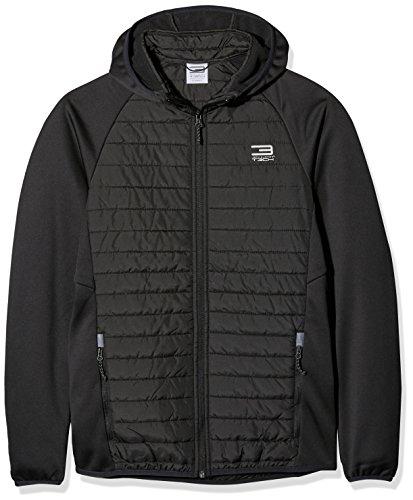JACK & JONES Jjtmulti Quilted Jacket Noos, Chaqueta para Hombre Schwarz (Black)
