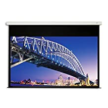 eGALAXY® 80 inch 16:9 ELECTRIC/MOTORIZED PROJECTOR SCREEN (MATTE WHITE) PSE80A