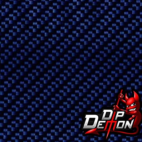 Blue Carbon Fiber Hydrographic Water Transfer Film Hydro Dipping Dip Demon - Demon Carbon Fiber