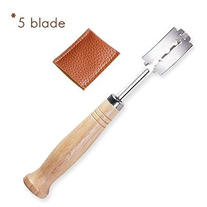 Compra Einsgut Baker Knife Baguette Knife with 5pcs Razor ...