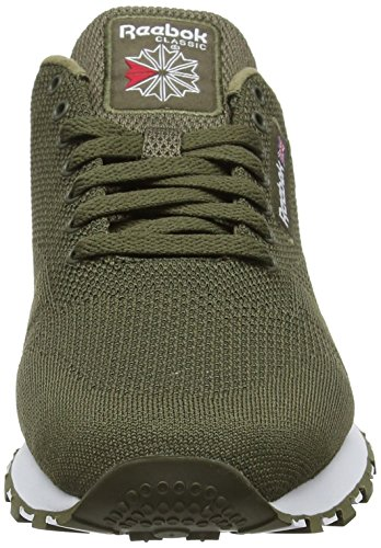 Reebok Classic Leather Ultk, Sneaker Uomo Verde (Army Green/White)