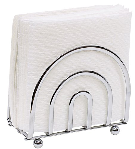 - Home Basics Chrome Collection Napkin Holder