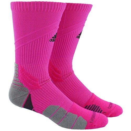 adidas Traxion Menace Football/Basketball Crew Socks – DiZiSports Store