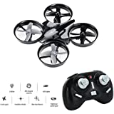 Mini Drone, Balahibo H36 RC Drone 2.4GHz 4CH 6-Axis Gyro Headless Mode One Key Return Beginners & Kids (Gray)
