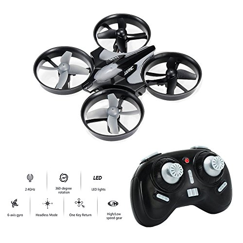 Mini Drone, Balahibo H36 RC Drone 2.4GHz 4CH 6-Axis Gyro with Headless Mode and One Key Return for Beginners & Kids (Gray)