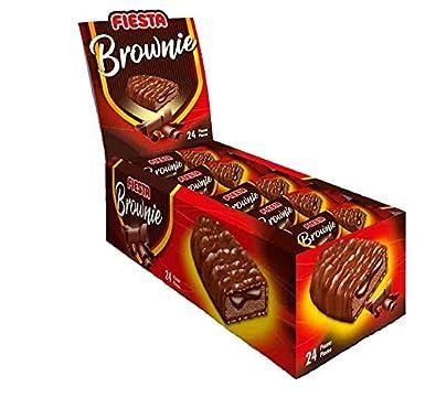 Fiesta Brownie Chocolate 24 unidades