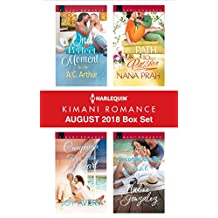 Harlequin Kimani Romance August 2018 Box Set: One Perfect Moment\Campaign for His Heart\Path to Passion\Unconditionally Mine