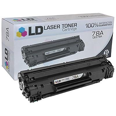 LD Compatible Hewlett Packard CE278A/78A Black Toner Cartridges for LaserJet P1566, Pro M1536dnf, & Pro P1606dn