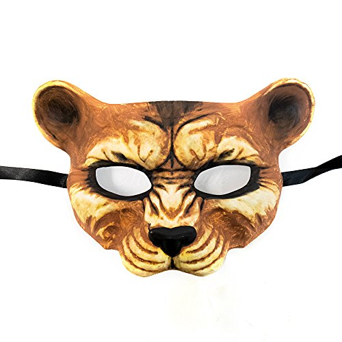 Leopard Face Animal Venetian Masquerade Mask Event Party Ball Mardi Gars (Leopard Costume Face Paint)