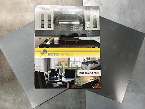 (Zinc Sheet Soft Roof Flashing Sample Pack)