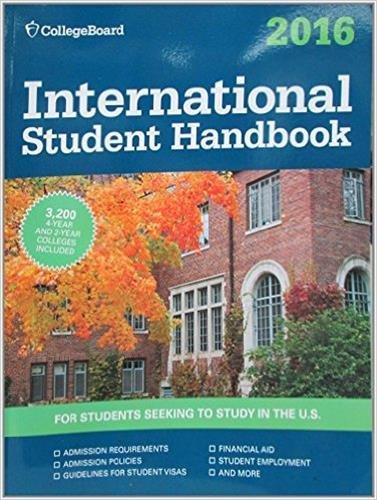 International Student Handbook 2016 (International Studend Handbook)