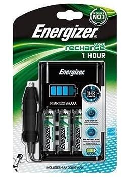 Energizer 635041 - Cargador de pilas AA + AAA 1h: Amazon.es ...