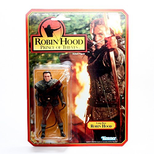 (Robin Hood Prince of Thieves with Long Bow Action Figure by Kenner)