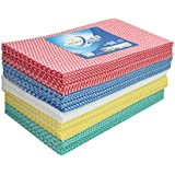 Jebblas Disposable Cleaning Towels Dish Towels Dish Cloths Reusable Towels,Handy Cleaning Wipes, 5 Colors, Great Dish Towel, Disposable, Absorbent, Dry Quickly 108 Sheets/Pack …