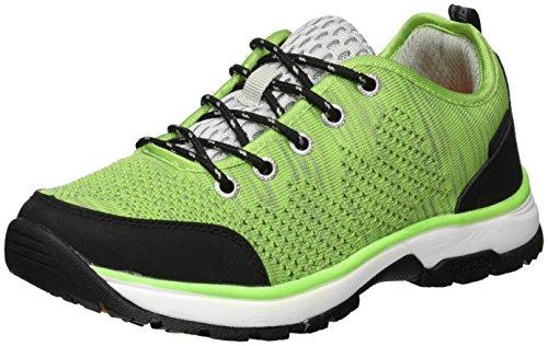 ICEPEAK Windy, Zapatillas de Deporte Exterior Para Mujer Verde (Leaf Green)
