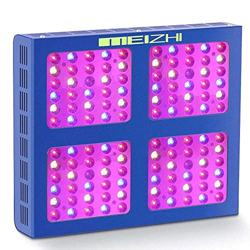 MEIZHI LED Grow Light 600W, Full Spectrum for Indoor Plants, Veg and Flower Dual Growth and Bloom Switches (Reflector Series)