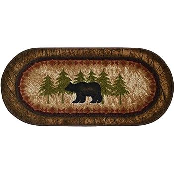 Cozy Cabin CC5276 Birch Bear Non Skid Rug 20