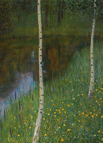 Image result for Gustav Klimt - Lakeshore with Birches
