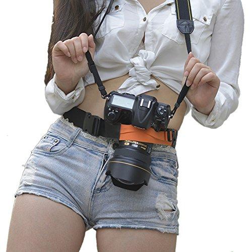 Ueasy Digital SLR DSLR Camera Waist Belt Holster Hanger Stra