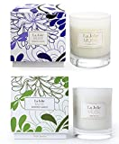 Scented Candles Pack 2 Lavender Lilac and Jasmine, 16 OZ 100% Soy Wax, Fine Home Fragrance Candle Gifts for Women