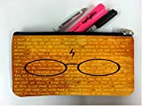 Inspirational Wizardry Quotes Design Print Image Student Pen Pencil Case Coin Purse Pouch Cosmetic Makeup Bag
