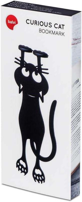 CYGG 1//5//10 segnalibro nero a forma di gatto scavato fuori PVC segnalibro gatto 12,3 cm Home Office scuola regali