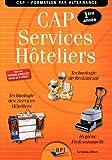 Cap Services Hoteliers Eleve - Première Annee