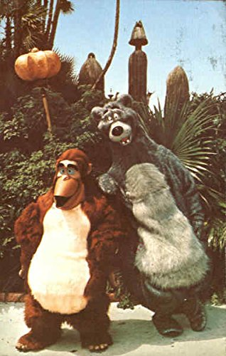 Look For The Bare Necessities Disney Original Vintage Postcard ()