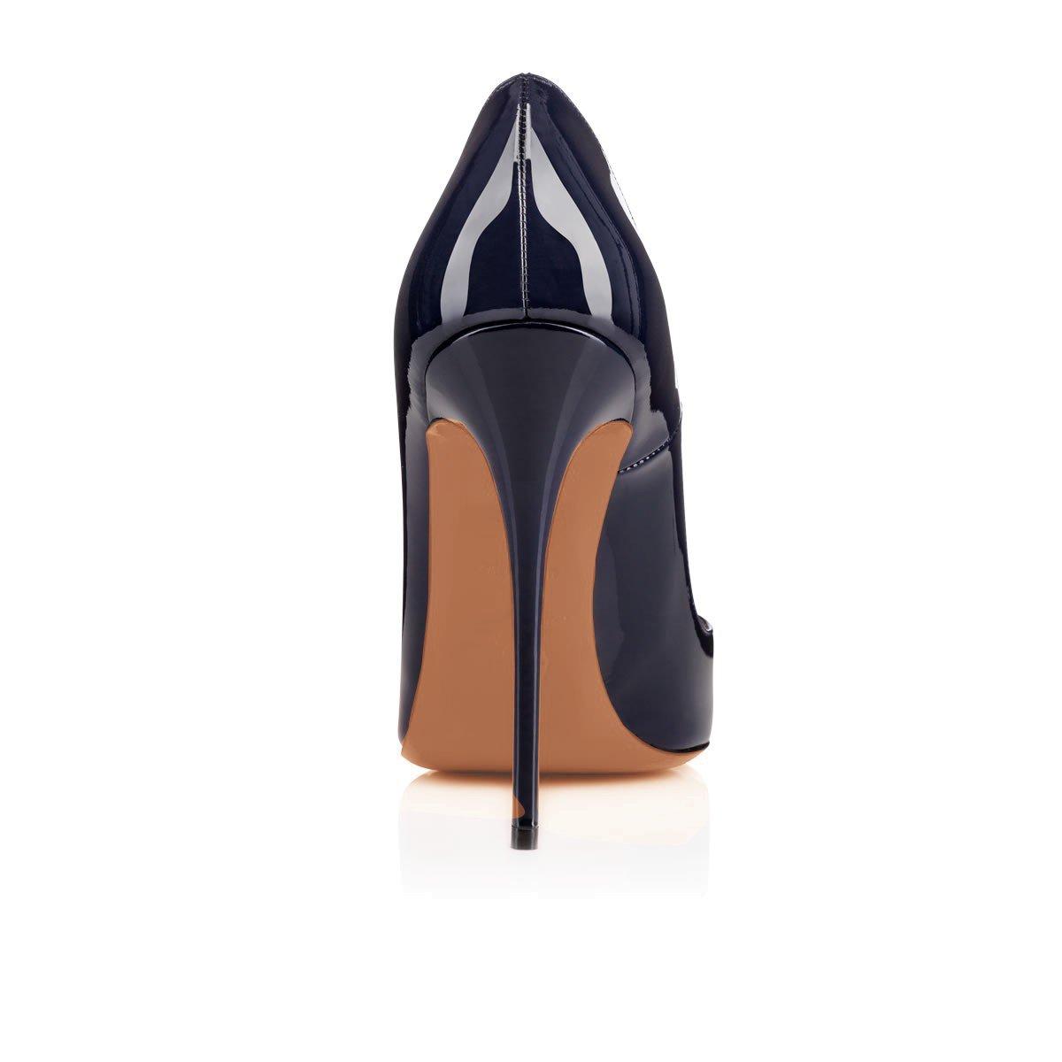 Arc-en-Ciel007 Womens Shoes Stiletto High Heel Pointed Toe Pump