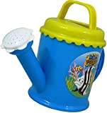 Plastic Watering Can Hello Fishy BLUE Beach Sand Water Bath Kids Children Gift Plastic Toys Garden Plants Tools Fun Play Sandpit Fish Flower