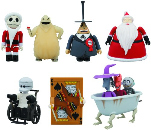 Medicom The Nightmare Before Christmas Deluxe 10-Piece Kubrick Box Set -