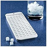 4 X Cubette Mini Ice Cube Trays (Set of 4, White) by Rovel
