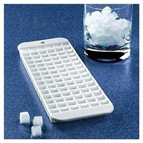 4 X Cubette Mini Ice Cube Trays (Set of 4, White) by Rovel (Small Star Ice Cube Tray compare prices)