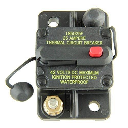Bussmann CB185-25 Surface-Mount Circuit Breakers, 25 Amps, Model: , Outdoor&Repair Store