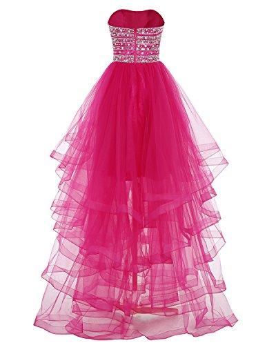 Livelli Bridesmay Blu Sera Da Lungo Tulle Spalline Più Da Vestito A Paillettes Partito Senza Di Reale Vestito Promenade wrBxanwg