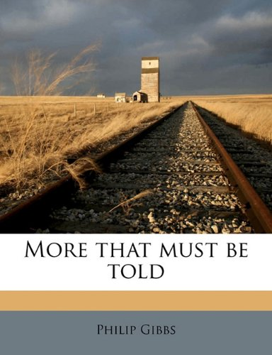 Download More that must be told ebook