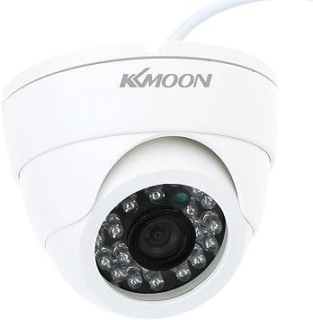 Kkmoon Cctv Kamera 800tvl Indoor 24 Leds Weitwinkel Ir Farb Sicherheitskamera Überwachungskamera Dome Kamera Baumarkt