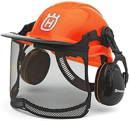 Husqvarna Casco De Seguridad Para Motosierra, Naranja - 576 41 24 ...