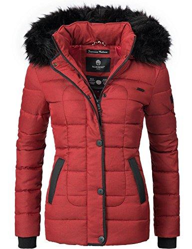 Unique Donna Colori Da 8 xl Rosso Xs Invernale Trapuntata Giacca Marikoo PZadqSP