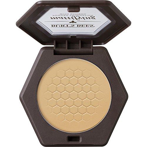 Burt's Bees 100% Natural Mattifying Powder Foundation, Bamboo, 0.3 Ounce