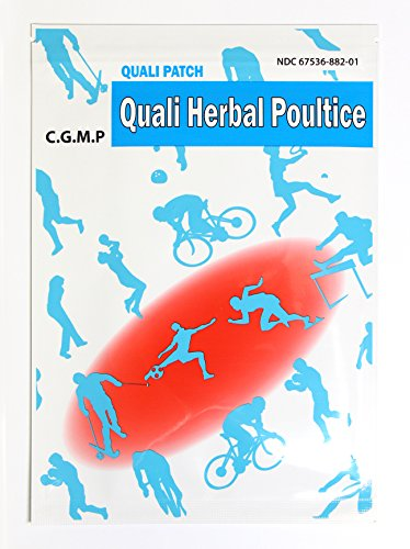Quali Herbal Poultice Pain Relief Patch Muscle Pain Joint Pain Shoulder Pain Long Lasting Pain Patch 3 Sheets Per Pack