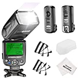 Neewer NW620 Manual Flash Speedlite Kit for Canon Nikon Panasonic Olympus Pentax and Other DSLR Cameras, Includes: NW620 GN58 Flash, Hard Diffuser, 2.4G Wireless Trigger, Microfiber Cleaning Cloth