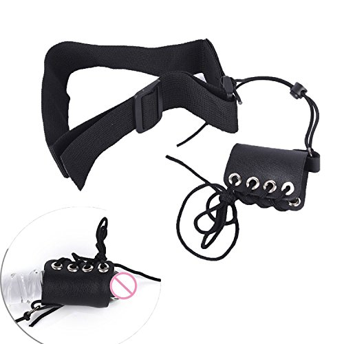 Leather Penis Pro Extender Stretcher Enhancement Tension Device Enlarger for Men Max Pro Hanger W/Clip Enlargement